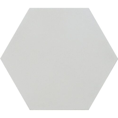 Hexagon Bianca Honed Cement Tiles 8×8