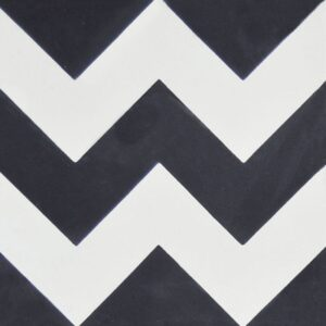 Chevron Honed Cement Tiles 8x8