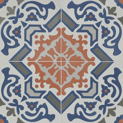 Madagascar Blend Honed Cement Tiles 8×8