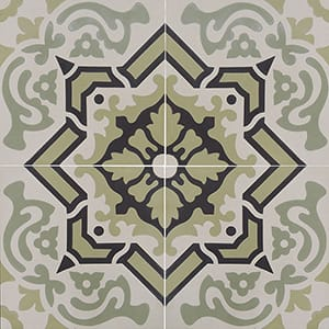 Egyptian Blend Honed Cement Tiles 8x8