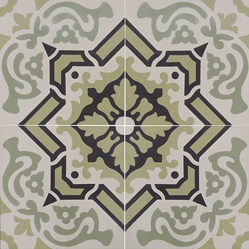 Egyptian Blend Honed Cement Tiles 8×8