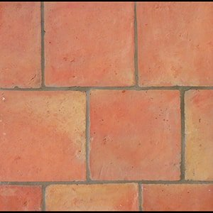 Cotto Square Natural Terracotta Tiles 8x8