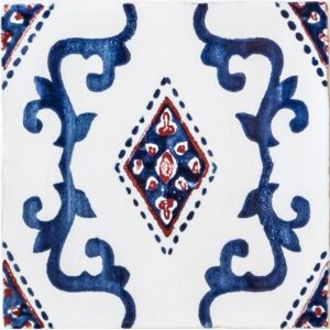 India Crackled Ceramic Tiles 8x8