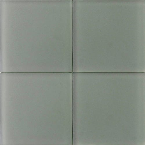 Rosemary Sanded Glass Tiles 4×4