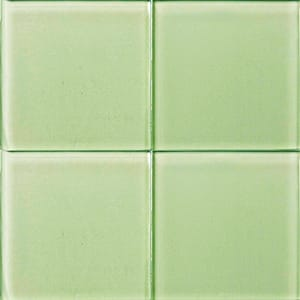 Moonstone Glossy Glass Tiles 4x4
