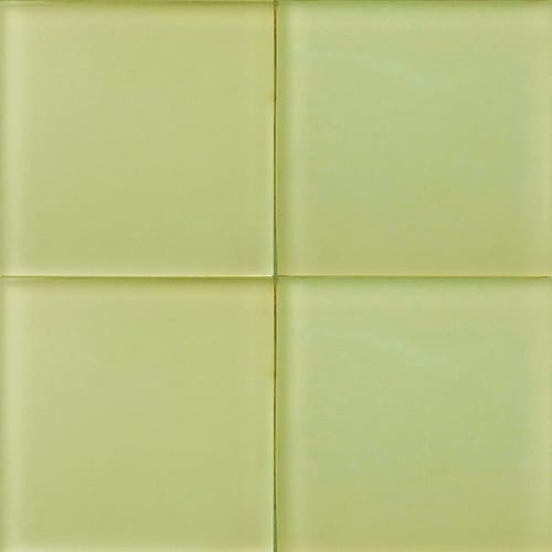 Peridot Sanded Glass Tiles 4×4
