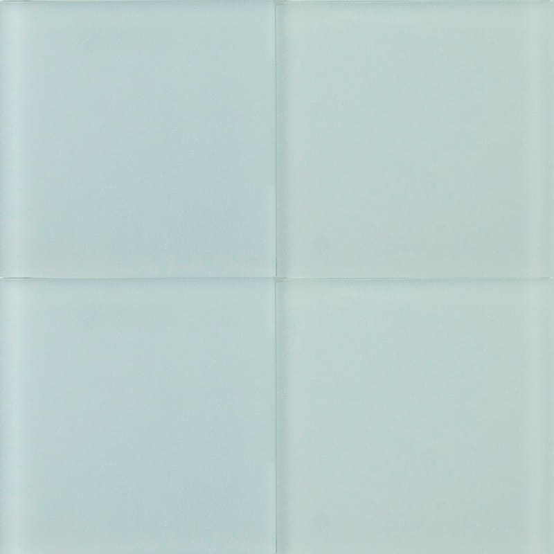 Flint Sanded Glass Tiles 4x4 Country Floors Of America Llc