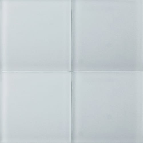 Pearl Sanded Glass Tiles 4×4
