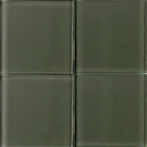 Pewter Glossy Glass Tiles 4×4