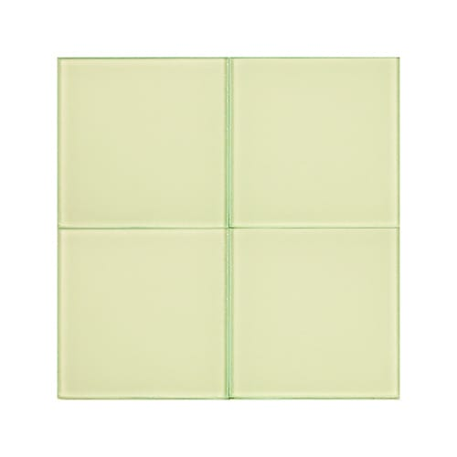 Canvas 2 Glossy Glass Tiles 4×4