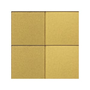 Hot Metal 2 Sanded Glass Tiles 4x4