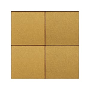 Hot Metal 3 Sanded Glass Tiles 4x4