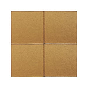 Hot Metal 4 Sanded Glass Tiles 4x4
