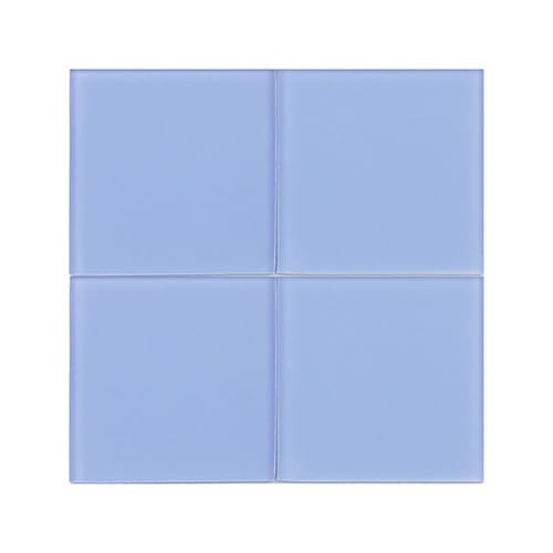 Indigo Blue2 Sanded Glass Tiles 4×4
