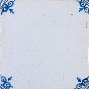Blanc Blue Crackled Glazed Ceramic Tiles 4x4