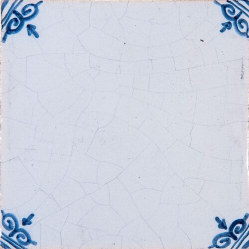 Blanc Blue Crackled Glazed Ceramic Tiles 4×4