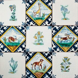 Game Poly Glazed Ceramic Tiles 5x5