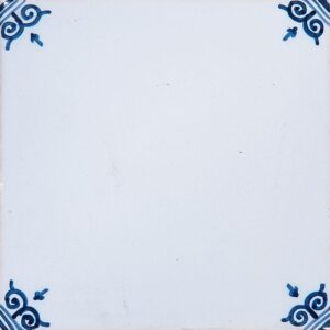 Blanc White Glazed Ceramic Tiles 5x5