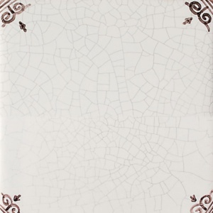 Blanc Sepia Crackled Glazed Ceramic Tiles 5x5
