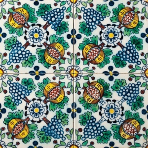 Druif Field Glazed Ceramic Tiles 5x5