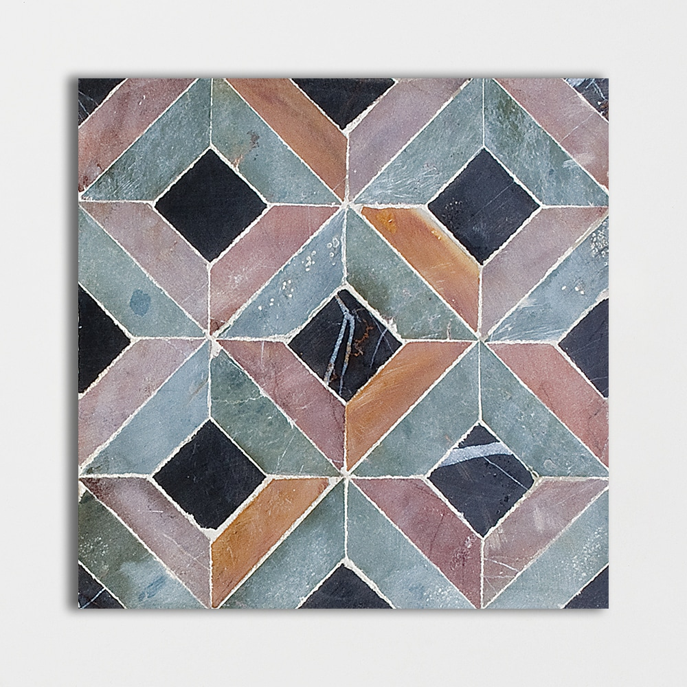 Visconte Honed 8x8 Mosaic Limestone Mosaic