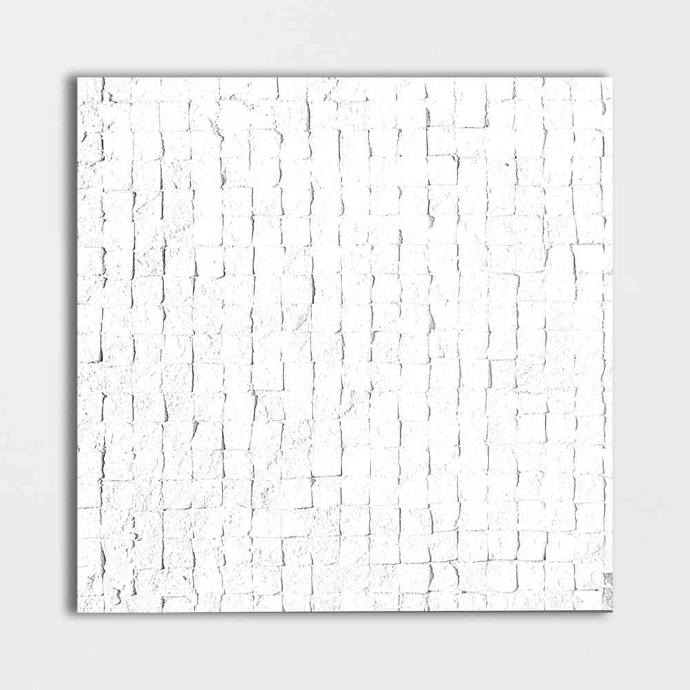 White Honed 8x8 Mosaic Limestone Mosaic