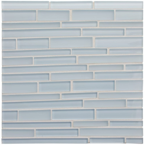 Breeze Gloss/matte Interlocking Slides Glass Mosaics 12×12