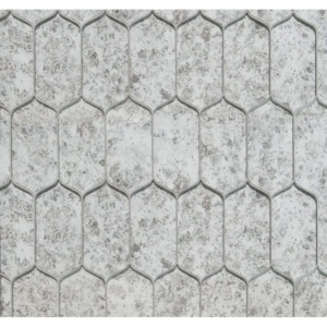 Picket Glossy Glass Mosaics 10x13 1/4