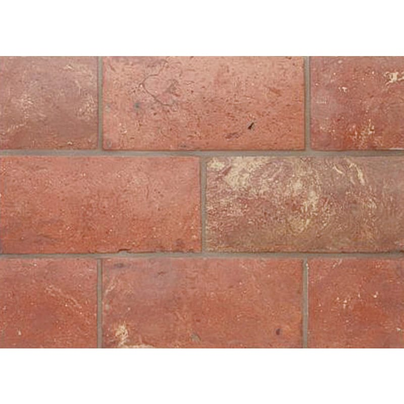 Atog Dark Antiqued 5 3/4x11 3/4 Terracotta Mosaic