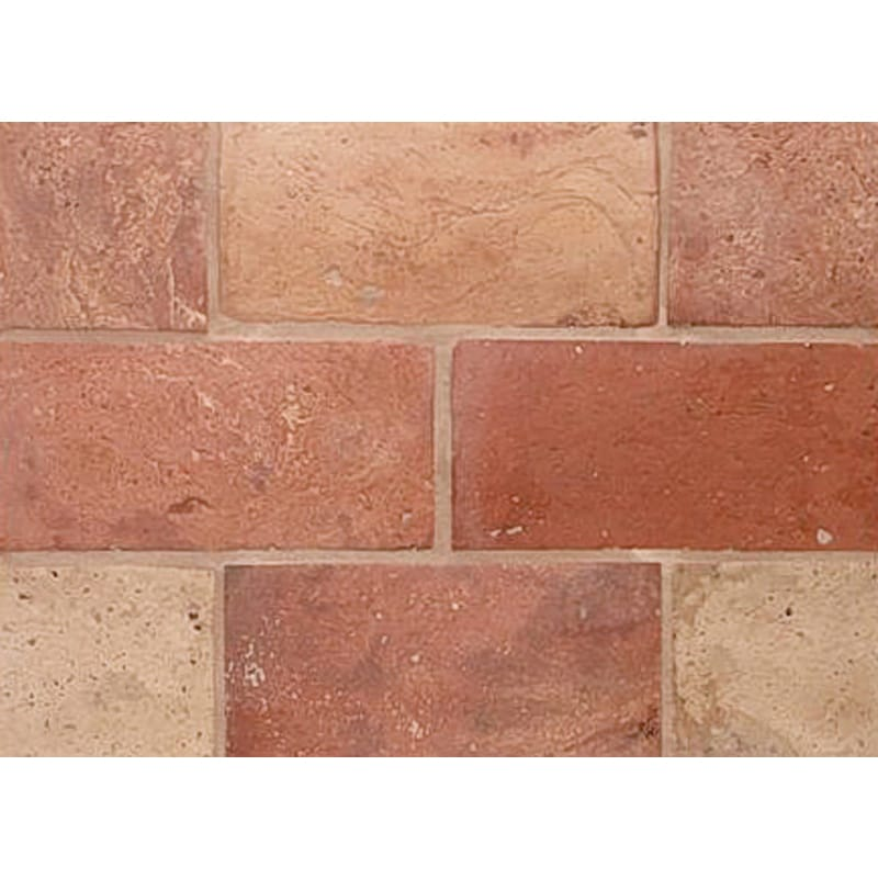 Atog Blend Antiqued Terracotta Mosaics 5 3/4x11 3/4