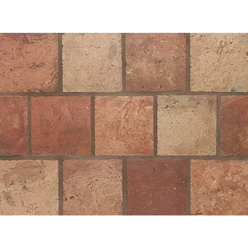 Atog Blend Antiqued Square Terracotta Mosaics 5 3/4x5 3/4