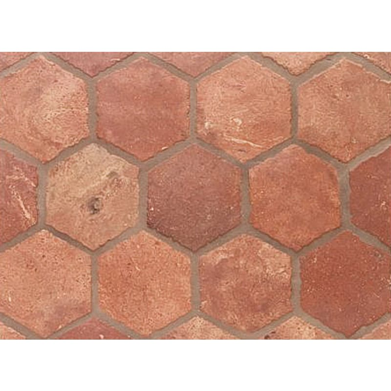 Atog Dark Antiqued 5 3/4x5 3/4 Terracotta Mosaic