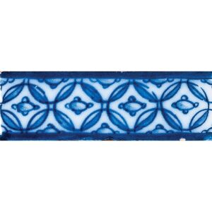 Tg-116 Glazed Filagree Ceramic Borders 1x6