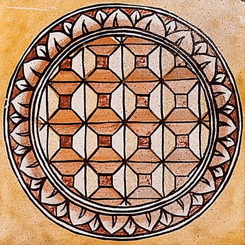 Dioro Lustro 5r Glazed Ceramic Tiles 6×6