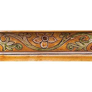 Dioro Antico Glazed Ogee Ceramic Borders 2x6