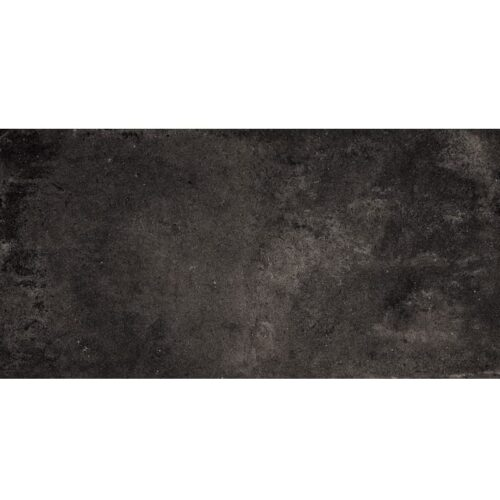 Weathered Black Matte Porcelain Tiles 12×24
