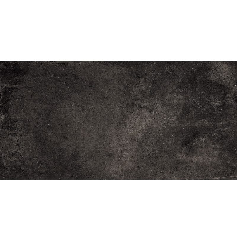 Weathered Black Matte Porcelain Tiles 12x24 Country