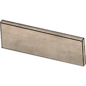 Runway Delight Honed Bullnose Porcelain Base 4x24