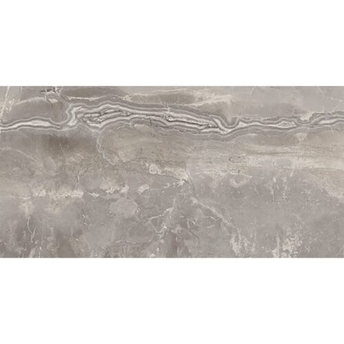Romano Greige Polished Porcelain Tiles 12×24