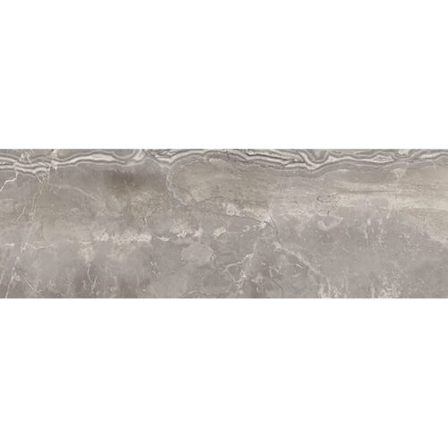 Romano Greige Polished Porcelain Tiles 4×12