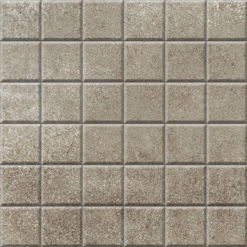 Berlin Toupe Honed 2x2 Porcelain Mosaics 12x12