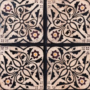 Winchester Sqr Glazed Ceramic Tiles 6x6