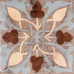 Aldington-5a Glazed Ceramic Tiles 4x4