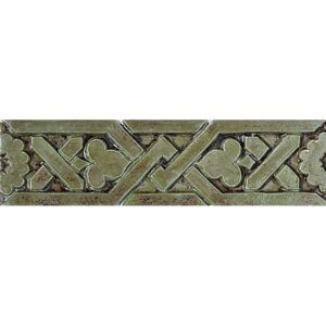 Ashbee B-8 Glazed Ceramic Borders 1 1/2x6