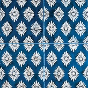 Florenz-45 Glazed Ceramic Tiles 6x6