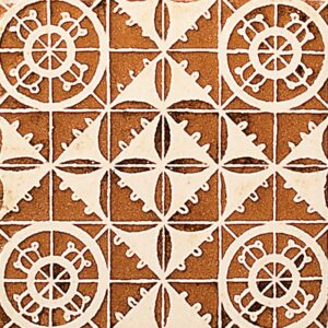 Nipon-54 Glazed Ceramic Tiles 4x4