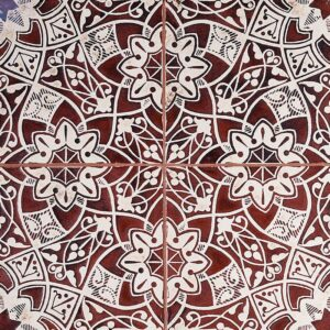 Mohandas-60 Glazed Ceramic Tiles 6x6