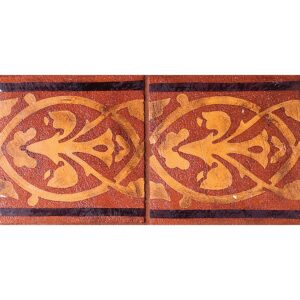 Dublin Red Glazed Ceramic Tiles 6x6
