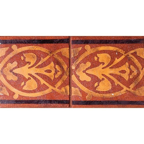 Dublin Red Glazed Ceramic Tiles 6×6