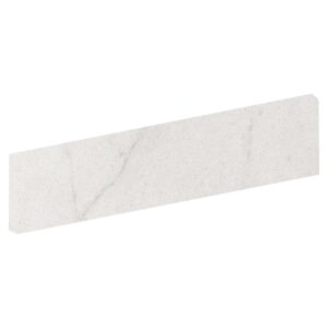 Crystal White Matte Bullnose Porcelain Base 4x24